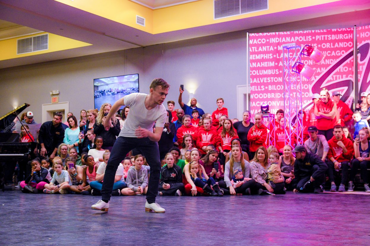 Kyle Van Newkirk at Showstopper Dance Convnetion Showcase